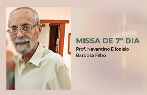Missa 7º Dia - Prof. Navantino - Miniatura